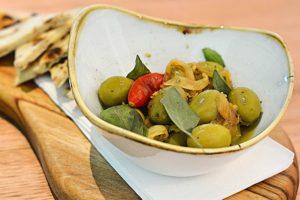 Marinated Olives Angle